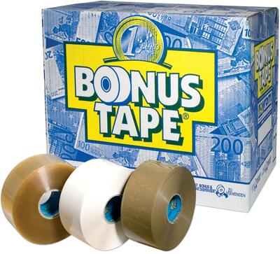 BONUS tape 50 mm / Klar